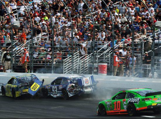 New Hampshire Motor Speedway Collide