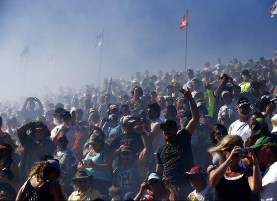 Phoenix International Raceway Fog