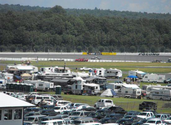 Pocono Raceway Parking