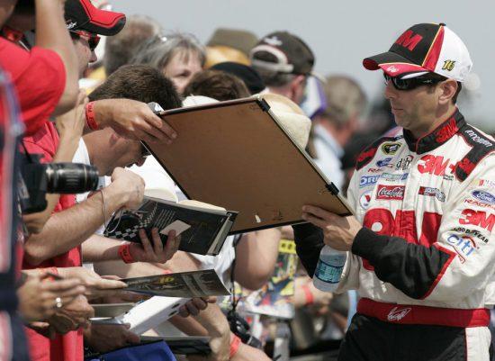 Pocono Raceway Autograph