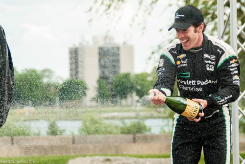 Simon Pagenaud winner