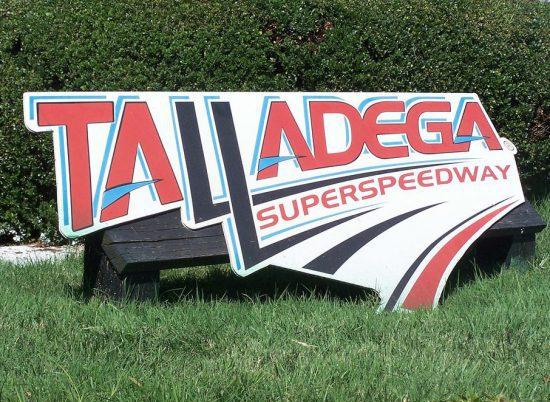 Talladega Superspeedway Signage
