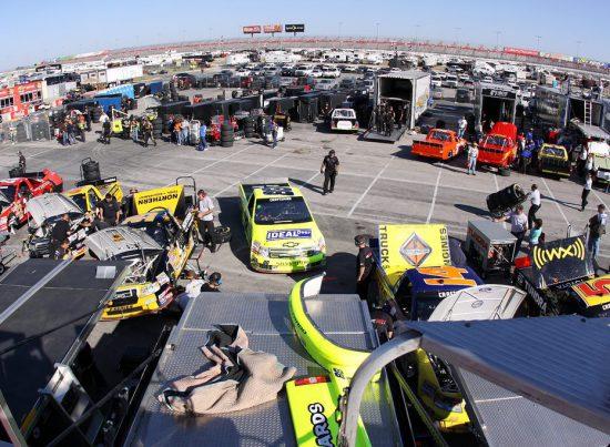 Texas Motor Speedway Garages