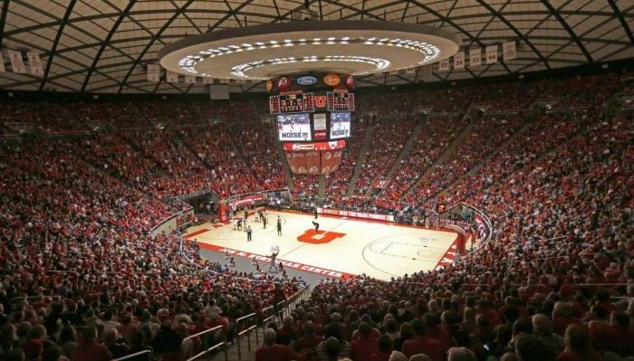 Utah Utes basketball Jon M Huntsman Center