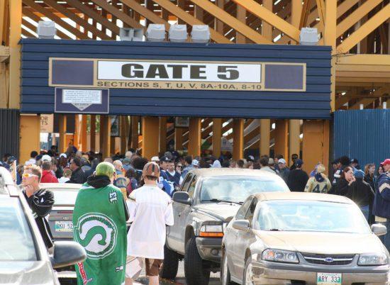 Winnipeg Blue Bombers Gate 5
