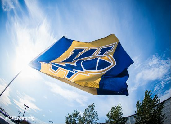 Winnipeg Blue Bombers Flag