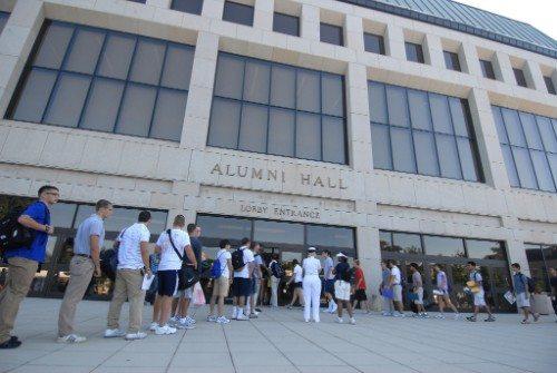 Navy Alumni Hall