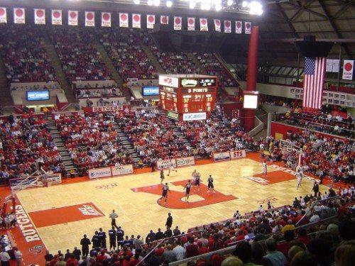 Rutgers basketball banners