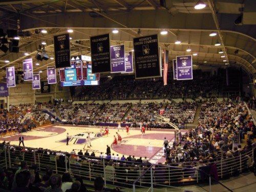 Welsh Ryan Arena banners