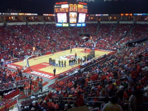 Save Mart Center banners