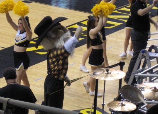 Holmes Center Appalachian State ASU Mountaineers Basketball mascot Yosef