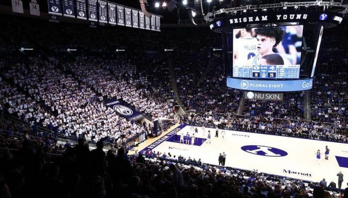 BYU Cougars Marriott Center