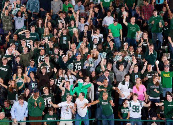 Dartmouth Big Green Basketball Leede Arena crowd fans