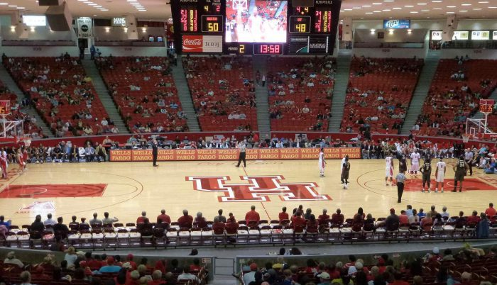 Houston Cougars Basketball Hofheinz Pavilion