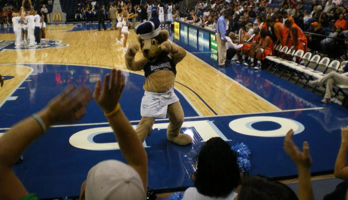 Old Dominion Monarchs Basketball Ted Constant Convocation Center players