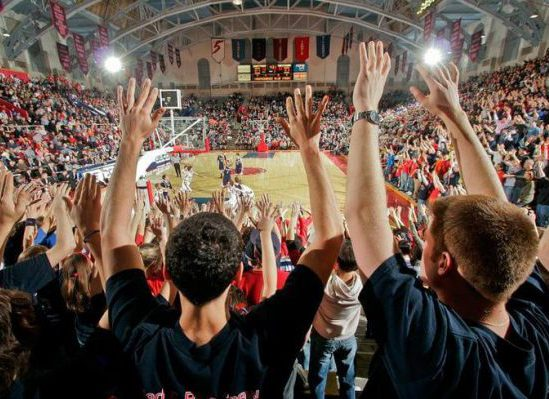 The Palestra Penn Quakers Basketball