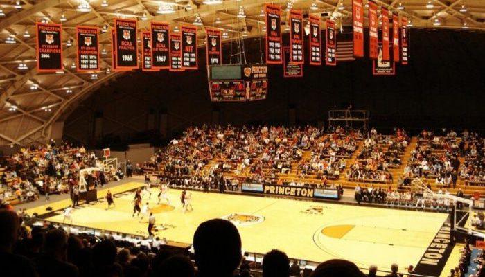 Princeton Tigers Basketball Jadwin Gymnasium