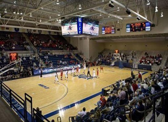 Rice Owls Basketball Tudor Fieldhouse