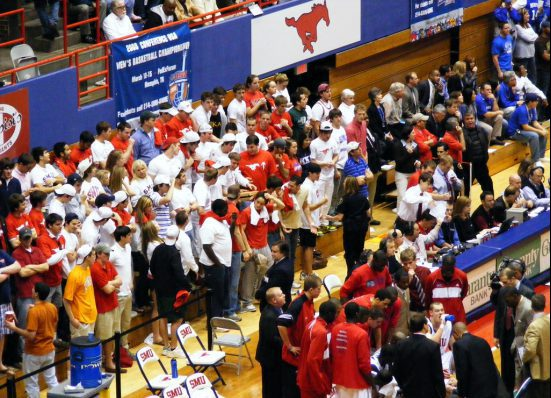 SMU Mustangs basketball