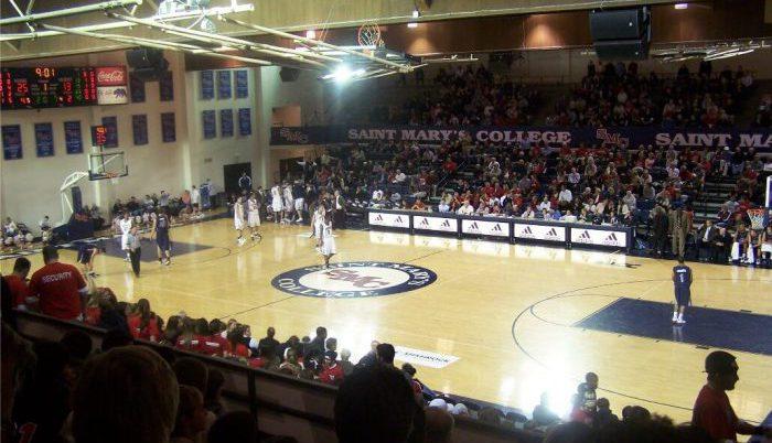 st marys gaels basketball McKeon Pavilion