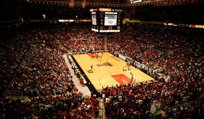 texas tech red raiders basketball United Supermarkets Arena