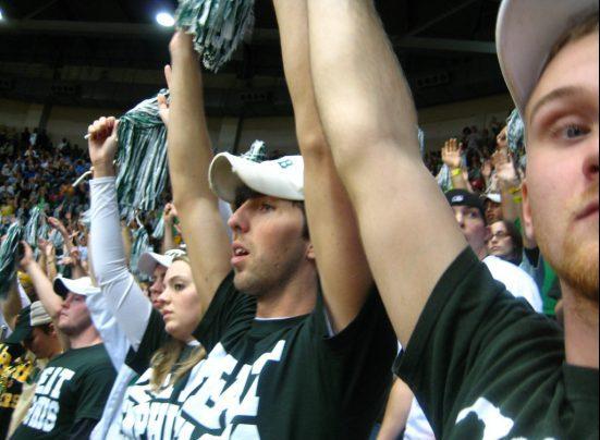 UAB Blazers basketball fans