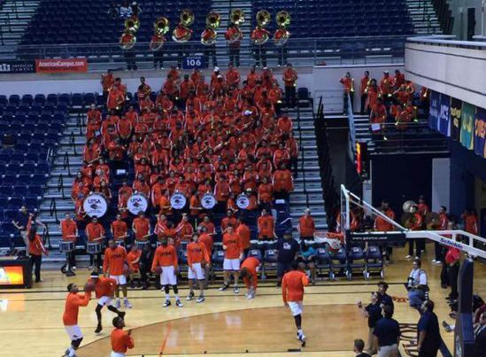 UTSA Roadrunners band