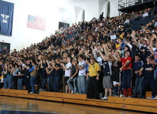 Yale Bulldogs basketball fans