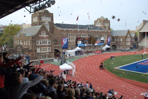 Penn Quakers Toast Throw