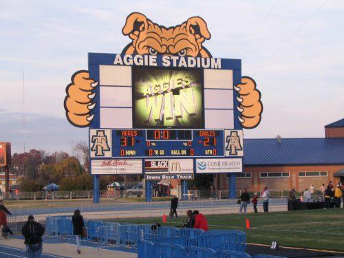North Carolina AT Aggies Aggie Stadium aggievision
