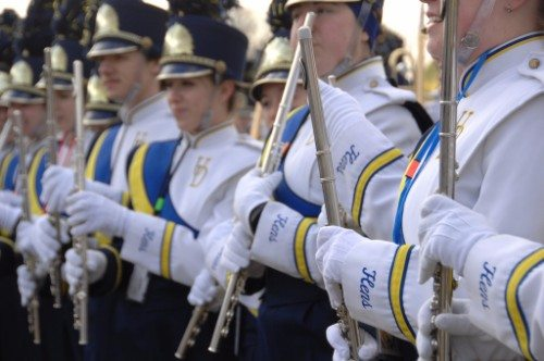 Delaware football band