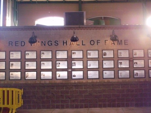 Rochester Red Wings Frontier Field hall of fame