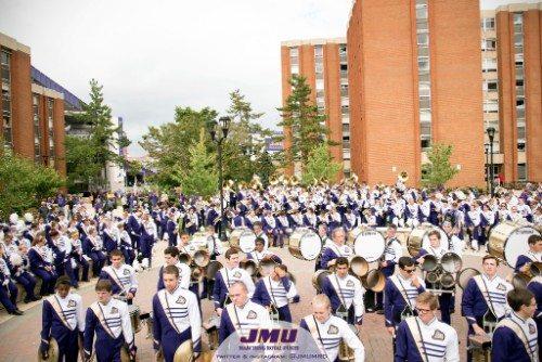 James Madison University Dukes marching band