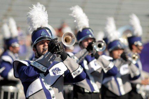 UCA Central Arkansas Bears marching Band