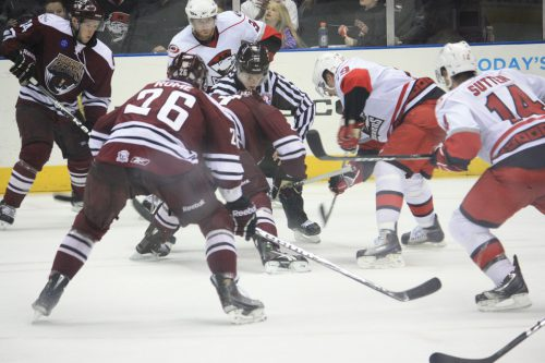 Charlotte Checkers vs Hershey Bears
