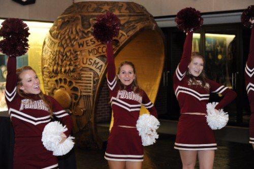 Fordham cheerleaders