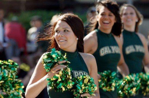 Cal Poly Cheerleaders