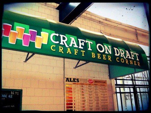 Buffalo Bisons consumers beer corner