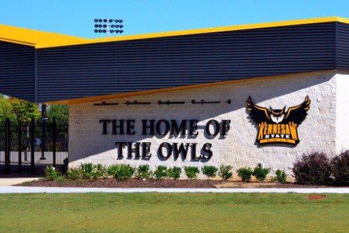 KSU Kennesaw State Owls Fifth Third Bank Stadium