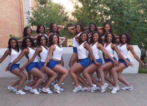 Jackson state cheerleaders