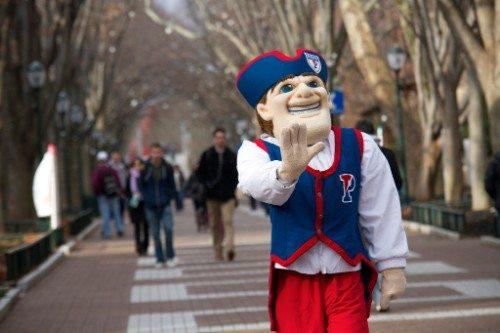 Penn Quakers Mascot