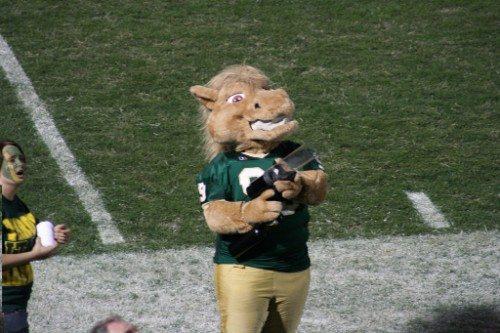 Cal Poly Mustangs Musty mascot
