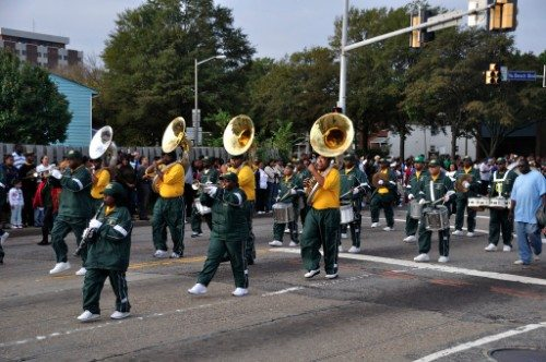 Norfolk State Spartans parade