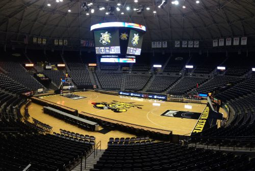Charles Koch Arena banners