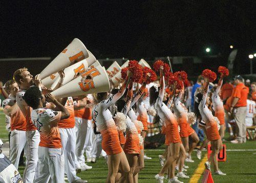 Sam Houston State Bearkats cheerleaders