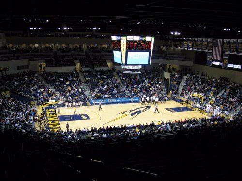 Savage Arena Toledo Rockets basketball