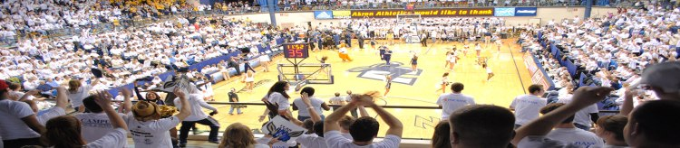 Akron Zips Basketball James A Rhodes Arena