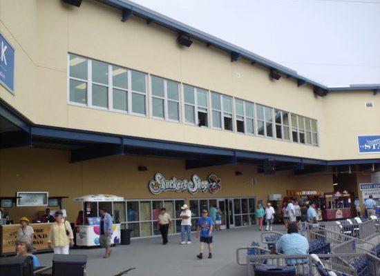 Biloxi Shuckers MGM Park shop