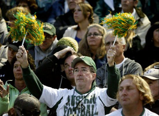 Cal Poly Mustangs football fans