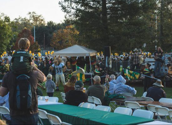 Cal Poly tailgate